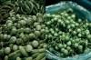 Dwa rodzaje bakłażana używane do zielonego curry